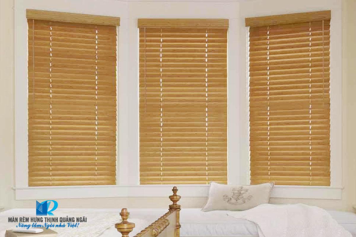 màn rèm gỗ